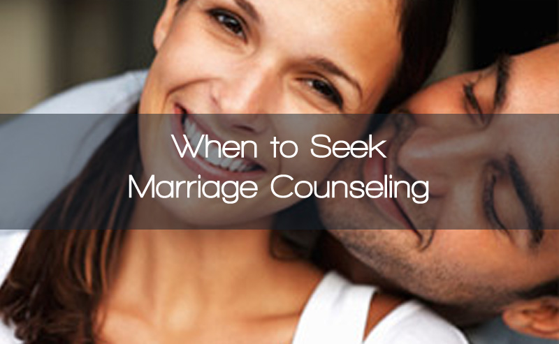 When to Seek Marriage Counseling